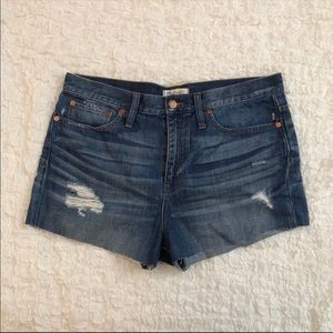 Madewell size 30 jean shorts